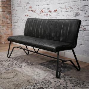 Krzesło / Ławka STREEP 150 cm – duża ławka do stołu – antracyt