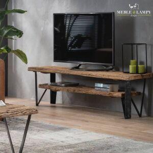 TV mebel 160 x 40 – naturalne drewno