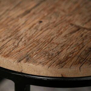 Zestaw dwóch stolików kawowych 40 i 50 cm – półkoliste ramki