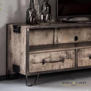 TV mebel RIFT – 3 szuflady, półka