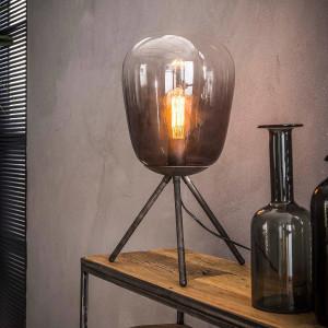 Cieniowana lampa stołowa – szkło