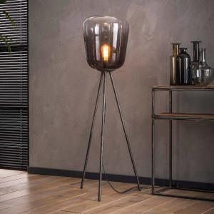 Cieniowana lampa podłogowa – szkło